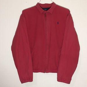 Vintage 1990s Ralph Lauren Red Jacket